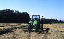 [Deutz-Fahr] trattore Agrotron di prima serie con voltafieno