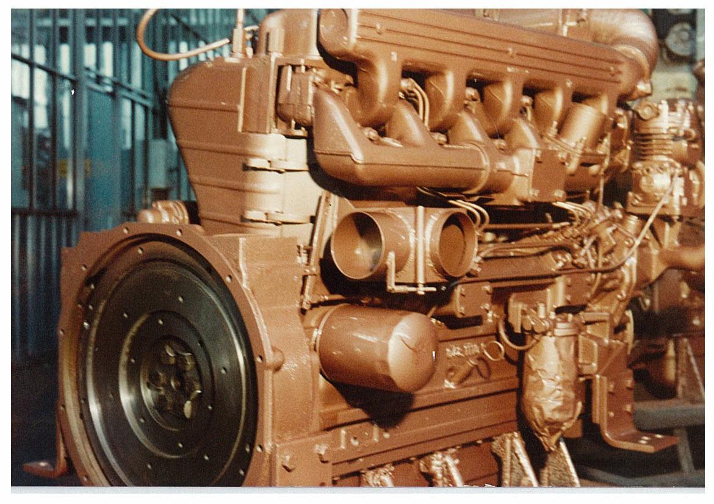 Motore SAME/ADIM per uso industriale - 5 cilindri - Particolari