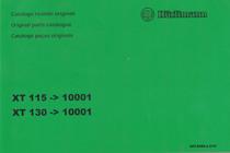 XT 115 ->10001 - XT 130 ->10001 - Catalogo ricambi originali / Original parts catalogue / Catalogo peças originais