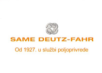 SAME DEUTZ-FAHR. Od 1927 . u službi poljoprivrede