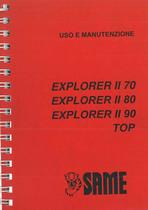 EXPLORER II 70 - 80 - 90 TOP - Libretto Uso & Manutenzione