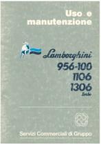 956 - 100- 1106 - 1306 TURBO - Libretto Uso & Manutenzione