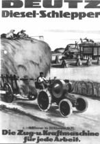 [Deutz] trattore MTH 222 su catalogo pubblicitario