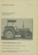 Bulletin d'essais de tracteur SAME Buffalo 130 4RM