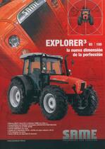 EXPLORER 3 85 - 100 la nueva diménsion de la perfeccion