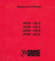 IRON 130 S - 140 S - 150 S - 165 S - Manuale d'officina