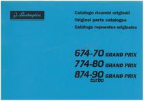 GRAND PRIX 674.70-774.80-874.90T - Catalogo Parti di Ricambio / Tractor Spare Parts / Repuestos para Tractor