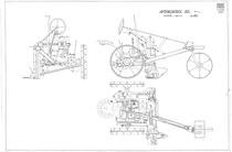 Autofalciatrice 851. Assieme, disegno 1401