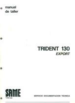 TRIDENT 130 EXPORT - Manual de Taller