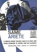 ARIETE - Instructions pour l'emploi et l'entretien