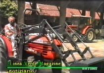 Presentazione di una nuova serie di trattori SAME a Vaprio d'Adda - Linea Verde Magazine, Rai 1