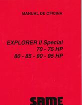 EXPLORER II 70 SPECIAL - EXPLORER II 75 SPECIAL - EXPLORER II 80 SPECIAL - EXPLORER II 85 SPECIAL - EXPLORER II 90 SPECIAL - EXPLORER II 95 SPECIAL - Manual de oficina