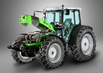 [Deutz-Fahr] trattore Agrofarm 85 in studio fotografico e particolari