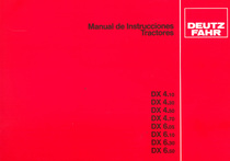 DX 4.10 - DX 4.30 - DX 4.50 - DX 4.70 - DX 6.05 - DX 6.10 - DX 6.30 - DX 6.50 - Manual de instrucciones