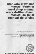 Electrical system, heating-ventilation and air conditioning - Workshop manual
