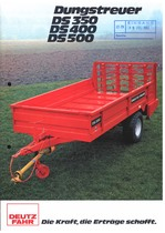 DUNGSTREUER DS 350 - 400 - 500