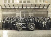 Presentazione del trattore Same Leone ai clienti del concessionario Marchesi di Parma