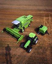 [Deutz-Fahr] trattori Agrotron, TopLiner 4075 HTS e rotopressa MP 130