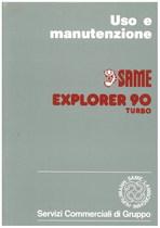 EXPLORER 90 TURBO - Libretto uso & manutenzione