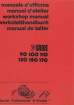 MOTORE serie 90 - 100 - 110 - 130 - 150- 170 - Manuel d'atelier