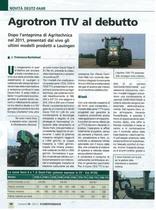 Agrotron TTV al debutto