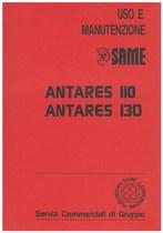 ANTARES 110/130 - Libretto uso & manutenzione