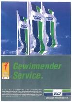 Gewinnender Service // Servizio vincente