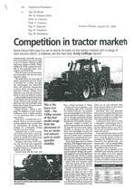 Competition in tractor market heats up