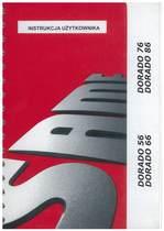 DORADO 56 - 66 - 76 - 86 - Instrukcja Użytkownika
