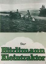 Catalogo pubblicitario relativo al trattore Hürlimann 1K 8