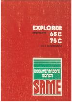 EXPLORER 65 - 75 C - Libretto uso & manutenzione