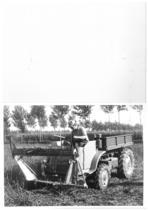 Samecar Agricolo al lavoro con barra falciante e caricatrice