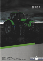 SERIE 7 DEUTZ-FAHR 7210 - 7230 - 7250 TTV AGROTRON