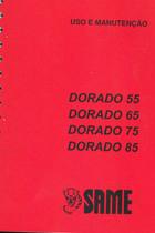DORADO 55 - 65 - 75 - 85 - Uso e manutençao