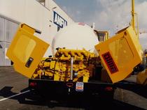 Motore ADIM per betoniera mobile