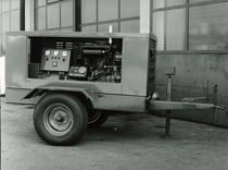 Motore SAME/ADIM per gruppo elettrogeno su carrello