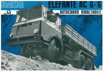 ELEFANTE AC 6 X 6 Autocarro Ribaltabile