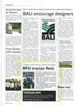 RFU tractor fleet