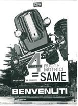 66ª Fiera Internazionale dell'Agricoltura Verona, 8-16/3/1964 - Cartellone pubblicitario SAME