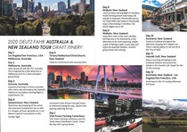 2020 DEUTZ-FAHR TOUR OF AUSTRALIA NEW ZEALAND