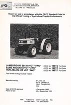 "Report test of Lamborghini 554-50 VDT ""4WD"""