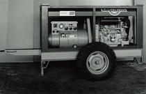 Motore SAME/ADIM a 3 cilindri per gruppo elettrogeno su carrello