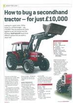 How to buy a seconhand tracotr- for just £10.000