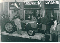 Lancio del trattore SAME Centauro ad Alessandria