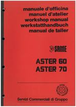 ASTER 60 - 70 - Manuale d'officina