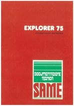 EXPLORER 75 - Utilisation et entretien