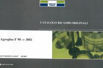 AGROPLUS F 90 ->3001 - Catalogo ricambi originali