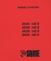 IRON 130 S - IRON 140 S - IRON 150 S - IRON 165 S - Manuel d'atelier