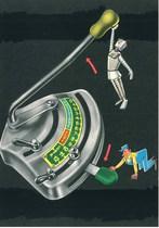 Stazione Automatica di Controllo - Particolari delle leve di comando