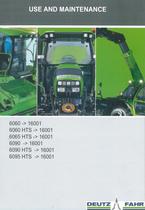 6060 -> 16001 - 6060 HTS -> 16001 - 6065 HTS -> 16001 - 6090 -> 16001 - 6090 HTS -> 16001 - 6095 HTS -> 16001 - Use and maintenance